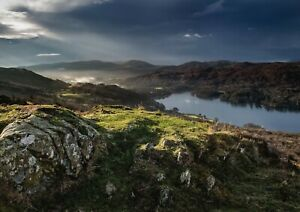 A1-Coniston-Water-Lakes-Poster-Print-60-x-90cm-180gsm-Nature-Wall-Art-16183
