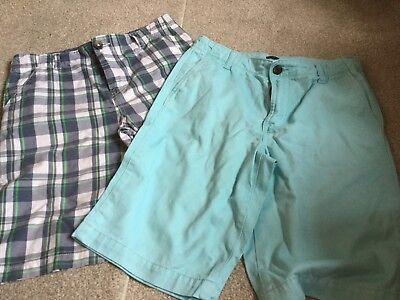 bluezoo Kids Boys Blue Chino Shorts