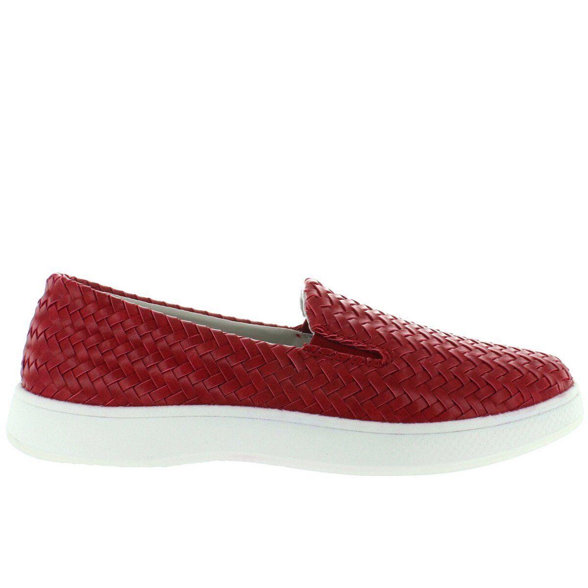 Aureus Claire - Cherry Woven Slip-On Sneaker