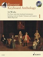 Baroque Keyboard Anthology Vol 1 Sheet Music 24 Works For Piano Book 049044900
