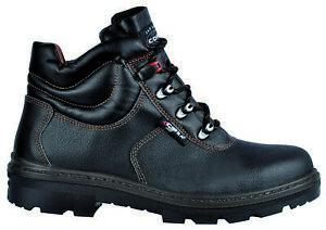 Dettagli su Cofra scarpe antinfortunistica S3 Paride 43 tipo alto nero da lavoro antiforo