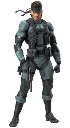 Figma 243 METAL GEAR SOLID 2: SONS OF LIBERTY Solid Snake MGS2 ver. Figure JAPAN