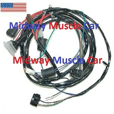 front end headlamp headlight wiring harness new style alternator 62-64 Chevy  II | eBayeBay