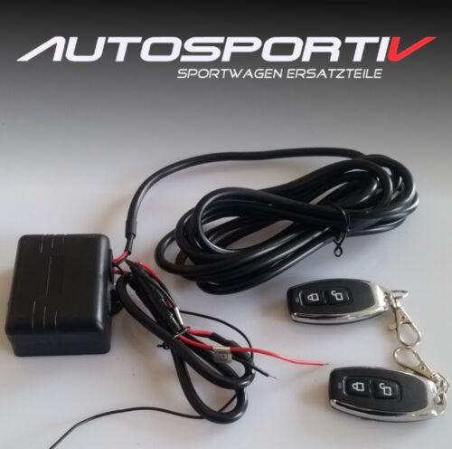 Porsche válvulas de escape KFZ 12v control remoto universal un dispositivo de control canal ZB