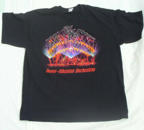 Trans-Siberian Orchestra 2014 Signed T-shirt XL Co