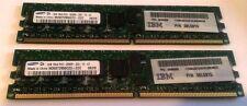 IBM 2GB DDR2 Memory Kit (2x1GB, DDR2-400, PC2-3200)