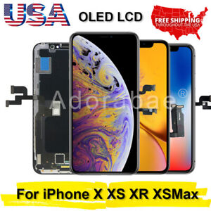 For-iPhone-X-XR-XS-Max-11-OLED-LCD-Display-Touch-Screen-Digitizer-Replacement