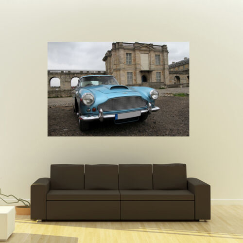 Poster of Aston Martin DB4 HD Print Multiple Sizes Available