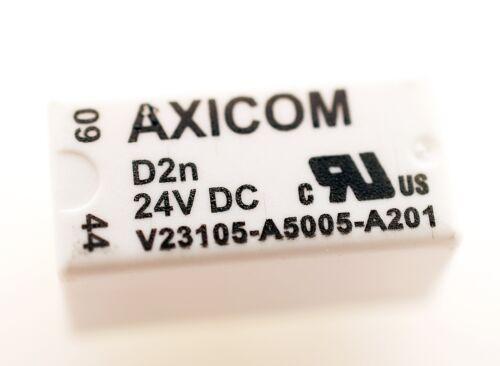 V23105-A5005-A201 AXICOM Signal Relay 24V 3A  #708854