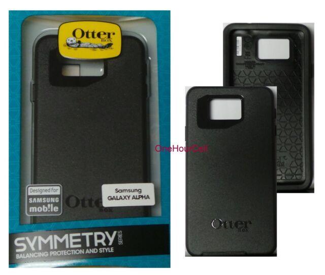 brand new b9e8e 58759 OTTERBOX Symmetry Series Case for Samsung Galaxy Alpha Black
