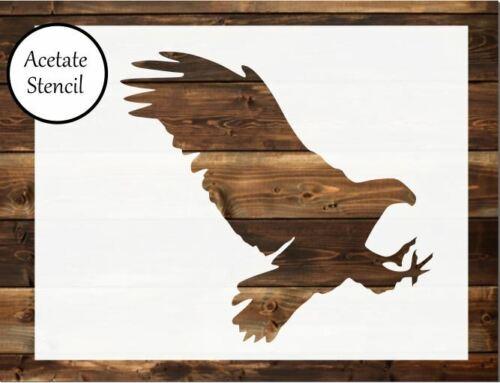 Card making Craft Stencil Airbrush Eagle stencil Bird Stencil