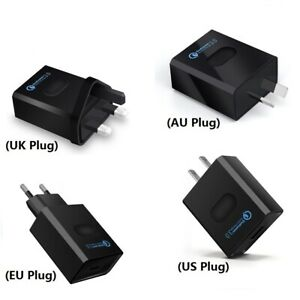 Quick-Charge-QC3-0-USB-Adapter-18W-Single-USB-Port-High-Power-Wall-Charger-Plug