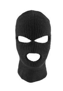 3 Hole Full Face Ski Mask Winter Cap Balaclava Hood Beanie Tactical Mask Hat
