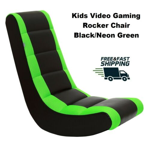 Rocker Gaming Chair Home Video Entertainment Seat Kids Gamer Floor Rocking Chair