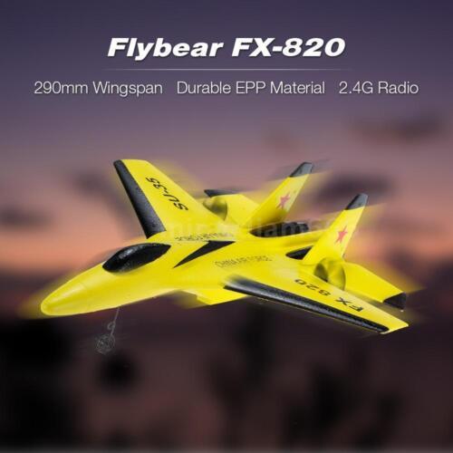 Flybear FX-820 2.4G 2CH SU-35 Glider Wingspan EPP RC Airplane RTF Plane UAV M0N0