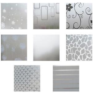 20060cm PVC Glass Bedroom Bathroom Window Privacy Film Stickers