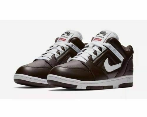 Size 10 - Nike Air Force 2 x Supreme Brown 2017 for sale online | eBay