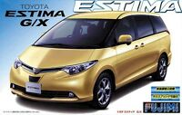 1/24 Fujimi Toyota Estima g And  X Version Plastic Model Kit