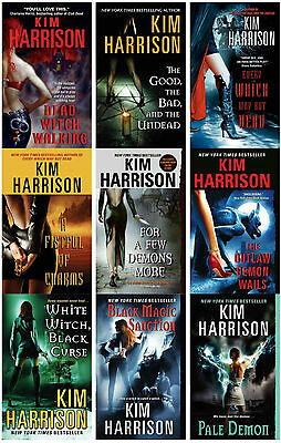 Hollows Series Collection Set Books 1-9 by Kim Harrison Brand New!