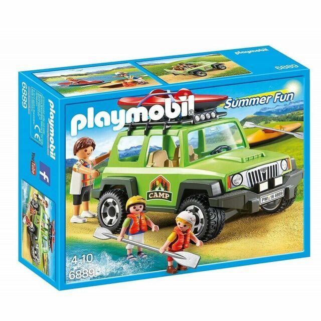 PLAYMOBIL 6889 Summer Fun Off-road SUV Playset
