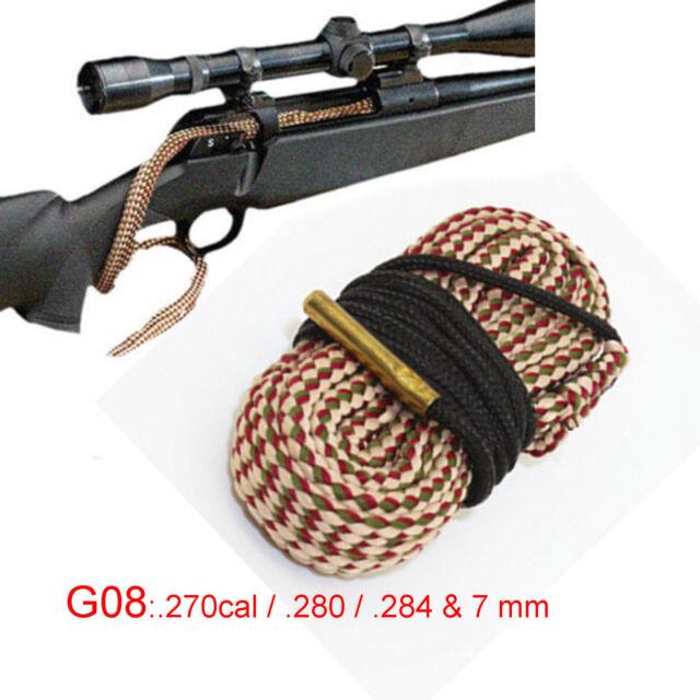 Xhunter Bore Brush 270 Cal .280 .284 7 MM Borebrush Cleaning Rifle Snake Cleaner