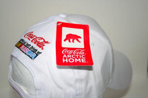 NASCAR Coke Coca-Cola Soda Polar Bear Baseball Cap Hat New OSFM 2011 Arctic Home