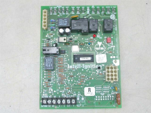 trane white rodgers 50m61-495 furnace control circuit board d341418p01 for  sale online