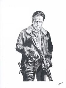 Print-Andrew-Lincoln-as-Rick-Grimes-the-walking-dead-JBL-drawings-LE