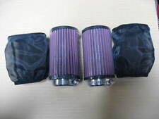 Yamaha Banshee YFZ350 K&N Style Air Filter Fit 26mm stock carb 2pcs