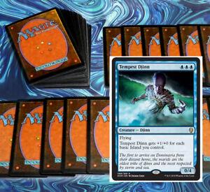 mtg-STANDARD-BLUE-DECK-Magic-the-Gathering-rares-60-cards-tempest-djinn-opt