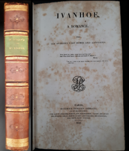 W-Scott-Ivanhoe-A-Romance-With-the-author-039-s-last-notes-and-additions-1831