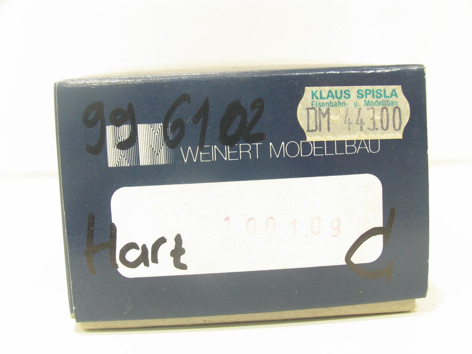 Weinert 100 109 metal kit h0e máquina de vapor 996102 resina transversales ferrocarril bw913