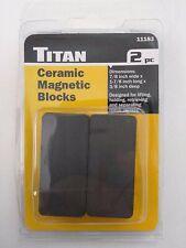 Titan 11183 Ceramic Magnetic Blocks 2pc