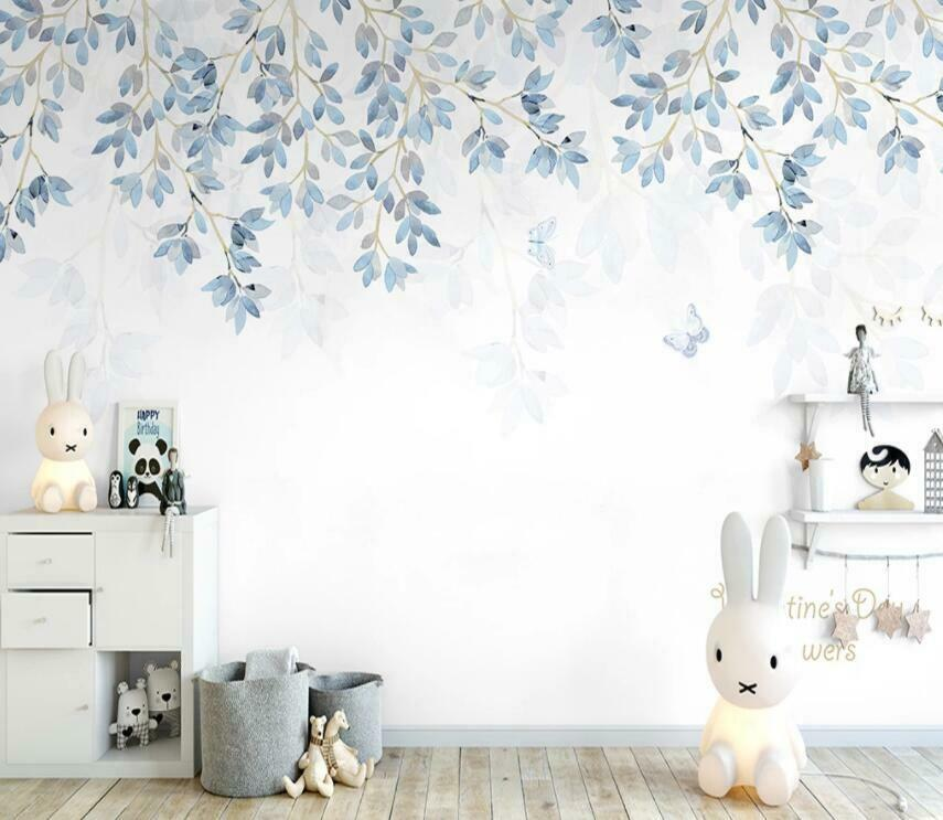3D Cool Leaves I2050 Wallpaper Mural Sefl-adhesive Removable Sticker Wendy