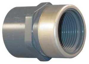 SPEARS-835-007SR-3-4-034-Socket-x-FNPT-PVC-Stainless-Steel-Adapter