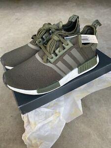 Adidas-NMD-R1-Shoes-Night-Cargo-Night-Cargo-Black-Mens-Size-10-US-BD7755
