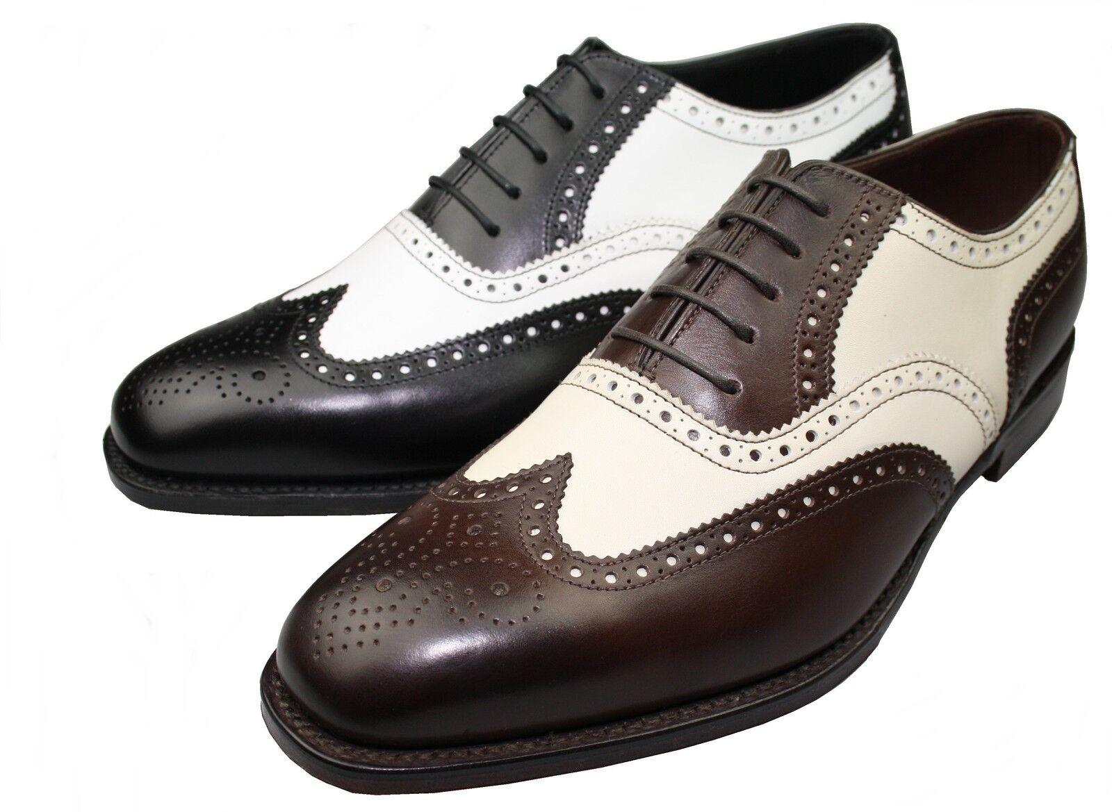 Loake rahmengenähte Schuhe 1880 1880 1880 Sloane Spectator Brogue Qualität made in England 536bb2