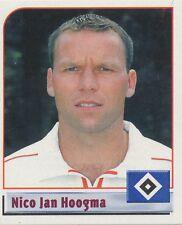 N°201 NICO JAN HOOGMA NETHERLANDS HSV HAMBURGER STICKER PANINI BUNDESLIGA 2002