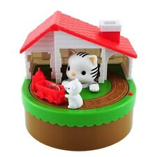 My Cute Cat & Mouse Electronic Coin Piggy Bank Eats & Saves Money Box