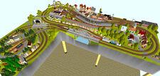 GP3-0090 Märklin C-Gleis-Plan Steinheim 300x230x100cm (DIN A4-Mappe Color)