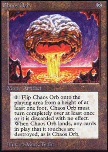 [1] chaos kugel (x1) collectors edition leichte spiel, englisch - bfg - mtg magie