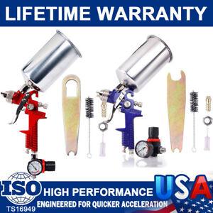 1.4/1.7/2.5mm HVLP Auto Paint Air Spray Gun Kit Gravity Feed Primer Painting Kit