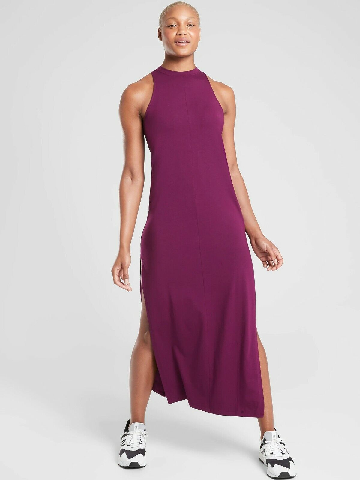 Details about  /Athleta Destination Maxi Dress Size XS Black NWT #531179