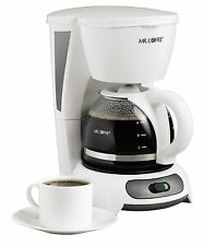 Mr. Coffee TF4 4-Cup Switch Coffeemaker, 2 Colors