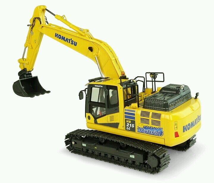 KOMATSU PC215LC3 HYBRID diecast excavator,(BRAND NEW VERSION) 1 50, UH