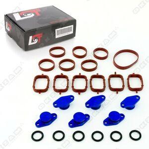 22mm-Aluminium-Bleu-Spirale-Clapet-Remplacement-Set-Torique-pour-BMW-X3-X5-X6