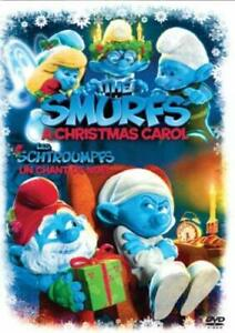 The-Smurfs-Christmas-Carol-Bilingual-Free-Shipping-in-Canada