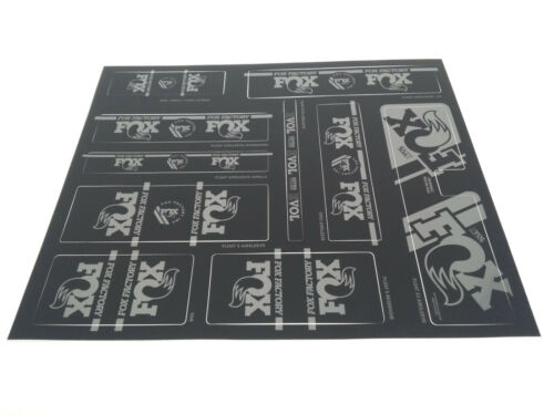 Stealth Fox Shox Heritage Decal//Sticker Kit Fork /& Rear Shock
