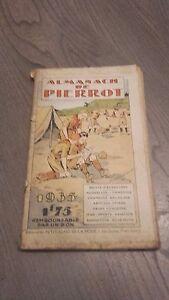 1935 Rivista Almanach Di Pierrot Edit.petit Echo Della Moda A Parigi IN 8 ABE
