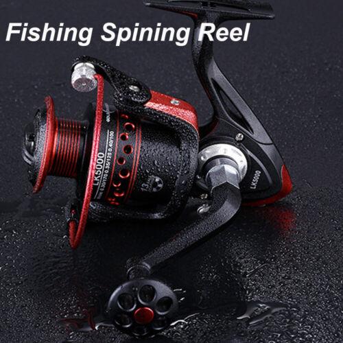Fish Bait Metal Gear Ratio Spinning Fishing Reel Metal Front Drag Handle Spool